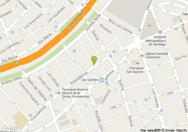 Mapa oficinas El Alba Consultores